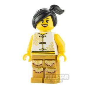 Product shot LEGO City Minifigure Female Lion Dancer