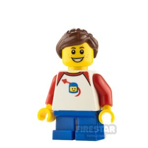 Product shot LEGO City Minifigure Space T-shirt and Freckles