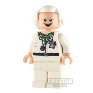 Product shot LEGO Dimensions Minifigure Doc Brown