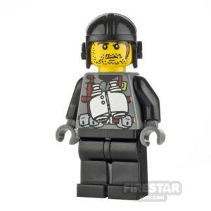 Product shot LEGO Dino Attack Minifigure Digger Binoculars Torso