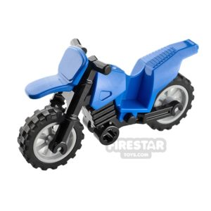 Product shot LEGO Dirt Bike Blue and Black