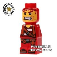 Product shot LEGO Games Microfig - Plank Pirate Red