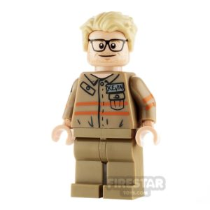 Product shot LEGO Ghostbusters Minfigure Kevin Beckman