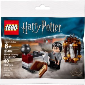 Product shot LEGO Harry Potter 30407 Harry's Journey to Hogwarts