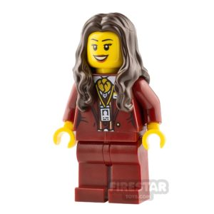 Product shot LEGO Hidden Side Minifigure Ms. Santos