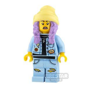 Product shot LEGO Hidden Side Minifigure Parker L. Jackson Smile and Sad