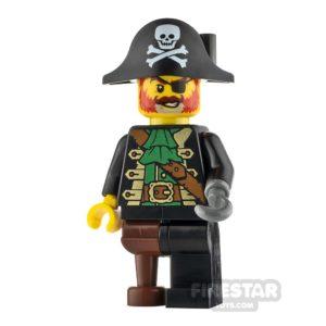 Product shot LEGO Ideas Captain Redbeard