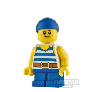 Product shot LEGO Ideas Jack Dark Shark Doubloons