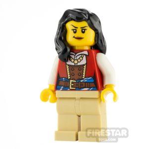 Product shot LEGO Ideas Lady Anchor