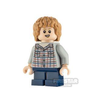 Product shot LEGO Jurassic World Figure Gray Mitchell
