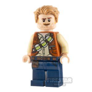 Product shot LEGO Jurassic World Figure Owen Grady