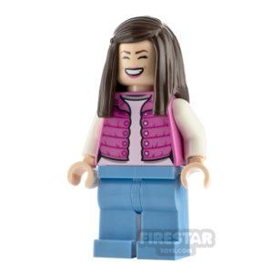 Product shot LEGO Jurassic World Figure Tourist Pink Jacket