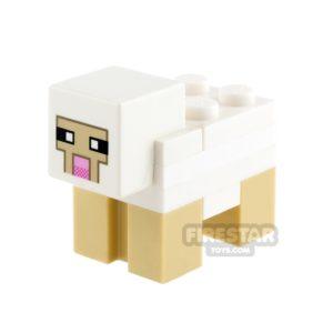 Product shot LEGO Minecraft Minifigure Minecraft Sheep