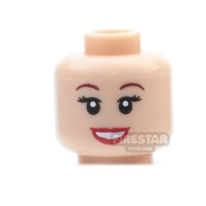 Product shot LEGO Mini Figure Heads - Ariel