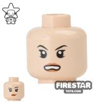 Product shot LEGO Mini Figure Heads - Bared Teeth