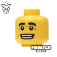 Product shot LEGO Mini Figure Heads - Big Smile