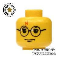 Product shot LEGO Mini Figure Heads - Harry Potter