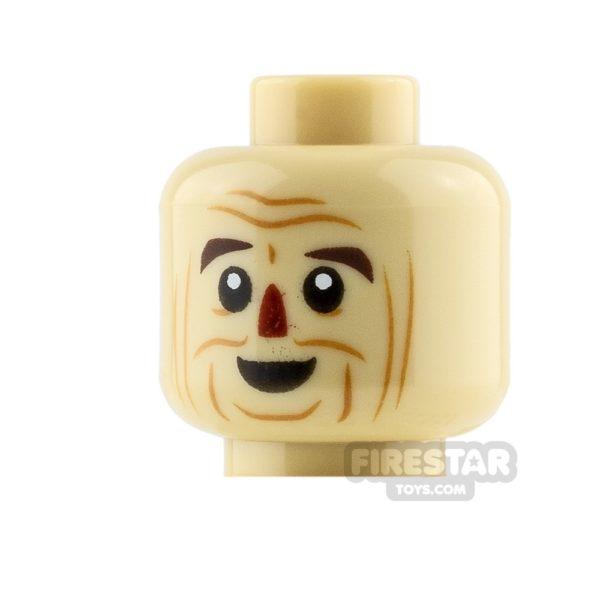 Product shot LEGO Mini Figure Heads Scarecrow