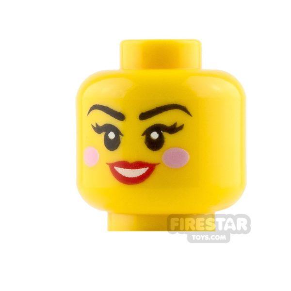 Product shot LEGO Mini Figure Heads Winking