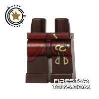 Product shot LEGO Mini Figure Legs - Belt with Gold Keys