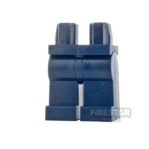 Product shot LEGO Mini Figure Legs - Dark Blue Legs