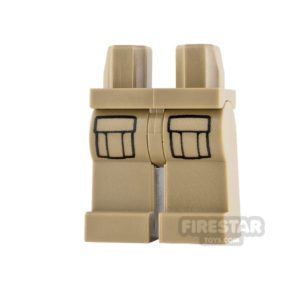 Product shot LEGO Minifigure Legs Cargo Pockets