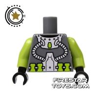 Product shot LEGO Mini Figure Torso - Diver