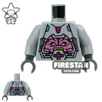 Product shot LEGO Mini Figure Torso - Teenage Mutant Ninja Turtles - Kraang Robot