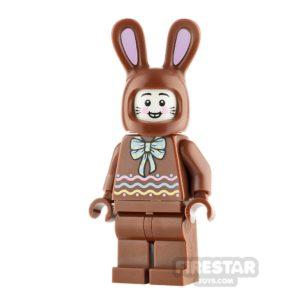 Product shot LEGO Minifigure Chocolate Bunny