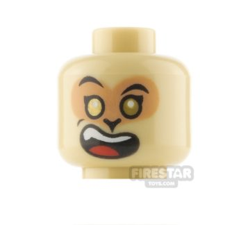 Product shot LEGO Minifigure Heads Excited and Angry