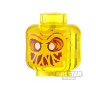 Product shot LEGO Minifigure Heads Slimed Mouth Ghost
