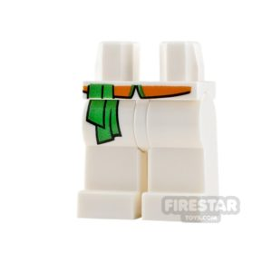 Product shot LEGO Minifigure Legs Robe with Sash