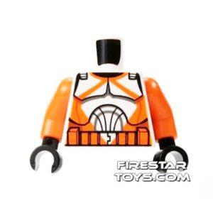 Product shot LEGO Minifigure Torso Bomb Squad Trooper