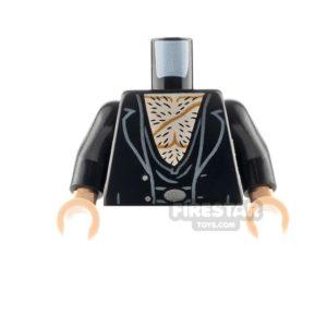 Product shot LEGO Minifigure Torso Harry Potter Fenrir Greyback