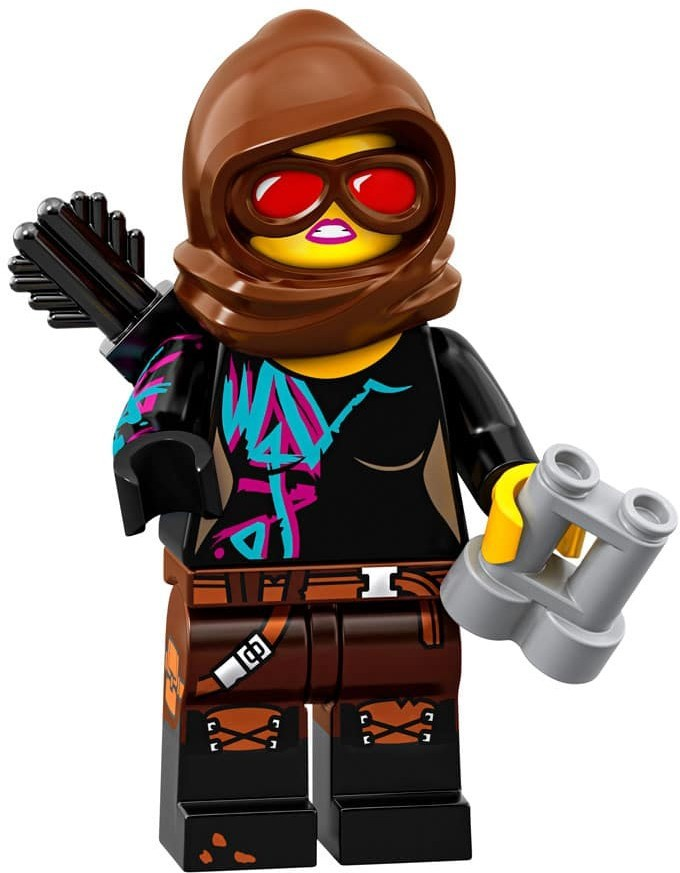 Product shot LEGO Minifigures 71023 Battle-Ready Lucy