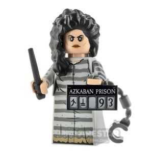 Product shot LEGO Minifigures 71028 Bellatrix Lestrange