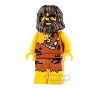 Product shot LEGO Minifigures Caveman