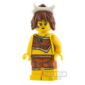 Product shot LEGO Minifigures Cavewoman