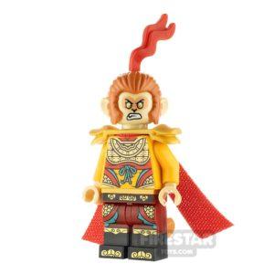 Product shot LEGO Monkie Kid Minifigure Monkey King