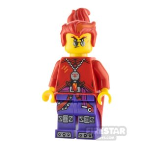 Product shot LEGO Monkie Kid Minifigure Red Son