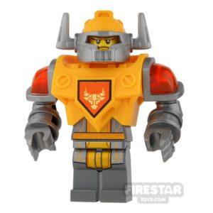 Product shot LEGO Nexo Knights Mini Figure - Battle Suit Axl