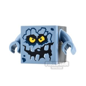 Product shot LEGO Nexo Knights Mini Figure - Brickster - Small