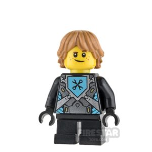 Product shot LEGO Nexo Knights Mini Figure - Robin - without Armour