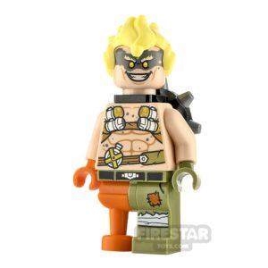 Product shot LEGO Overwatch Minifigure Junkrat