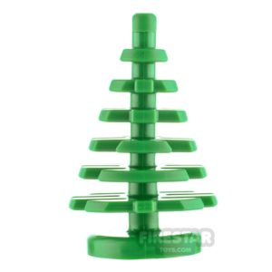 Product shot LEGO Pine Tree Small 2x2x4