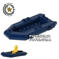 Product shot LEGO - Raft Boat - Dark Blue