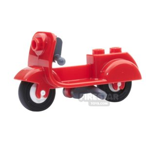Product shot LEGO - Scooter with Stand - Red