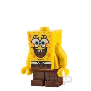 Product shot LEGO Spongebob Minifigure Spongebob Large Grin