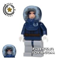 Product shot LEGO Star Wars Mini Figure - Anakin Skywalker Parka