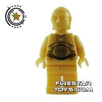 Product shot LEGO Star Wars Mini Figure - C-3PO Droid